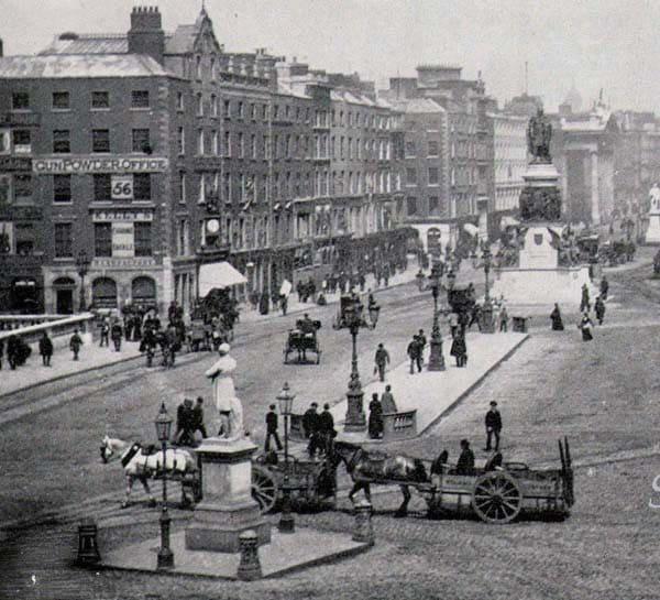 Dublin Ireland Sackville Street 1890 Large Photo Print