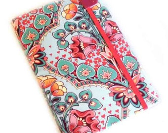 iPad MINI cover - Nouveau Floral - pretty tablet case for iPad Mini with pocket - hardcover women's gadget accessory