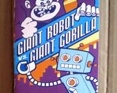 Giant Robot vs Giant Gorilla Small Press Comic