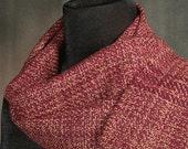 handmade Merino wool scarf