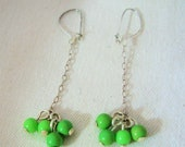 Lengthy Lime Earrings by Diana