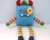 Amigurumi Pattern Knit Monster Digital Download