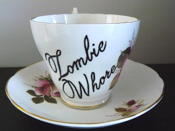 Zombie Whore teacup