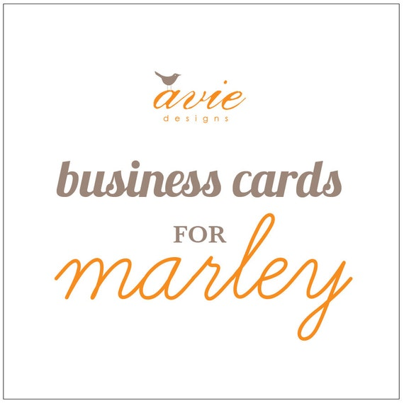 Special Order for Marley