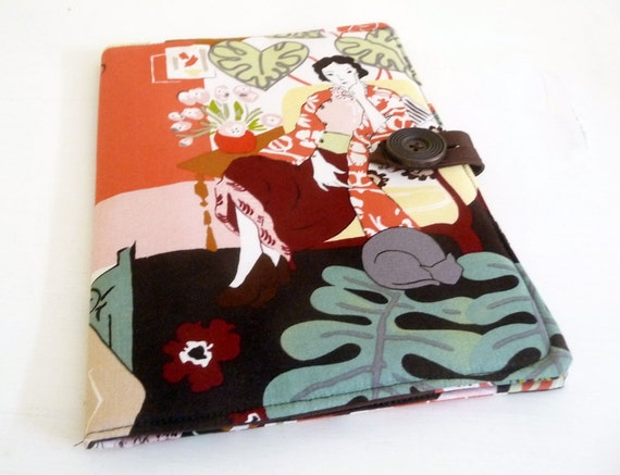 Kindle Fire HD 8.9 Cover, Matisse Inspired Cotton Print