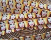 "3/8"" Barbie doll  grosgrain ribbon 5 yards"
