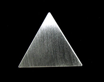 Sterling Silver Pyramid Pendant ONLY - no chain - Stevie Nicks Inspired Pyramid Pendant Jewelry, Handmade Triangle Pendant,