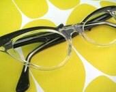 Nerdy Kitten Cat's-Eye Glasses - vintage eyeglass frames
