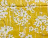 Vintage Sheet Fat Quarter -  Yellow Posies