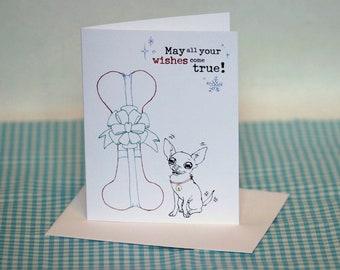Chihuahua Holiday Greeting Card