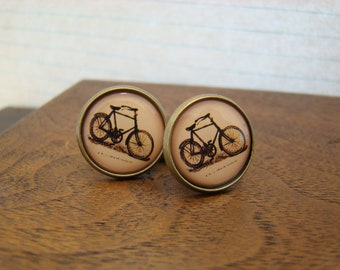 Bicycle Cuff Links - Style No. 202