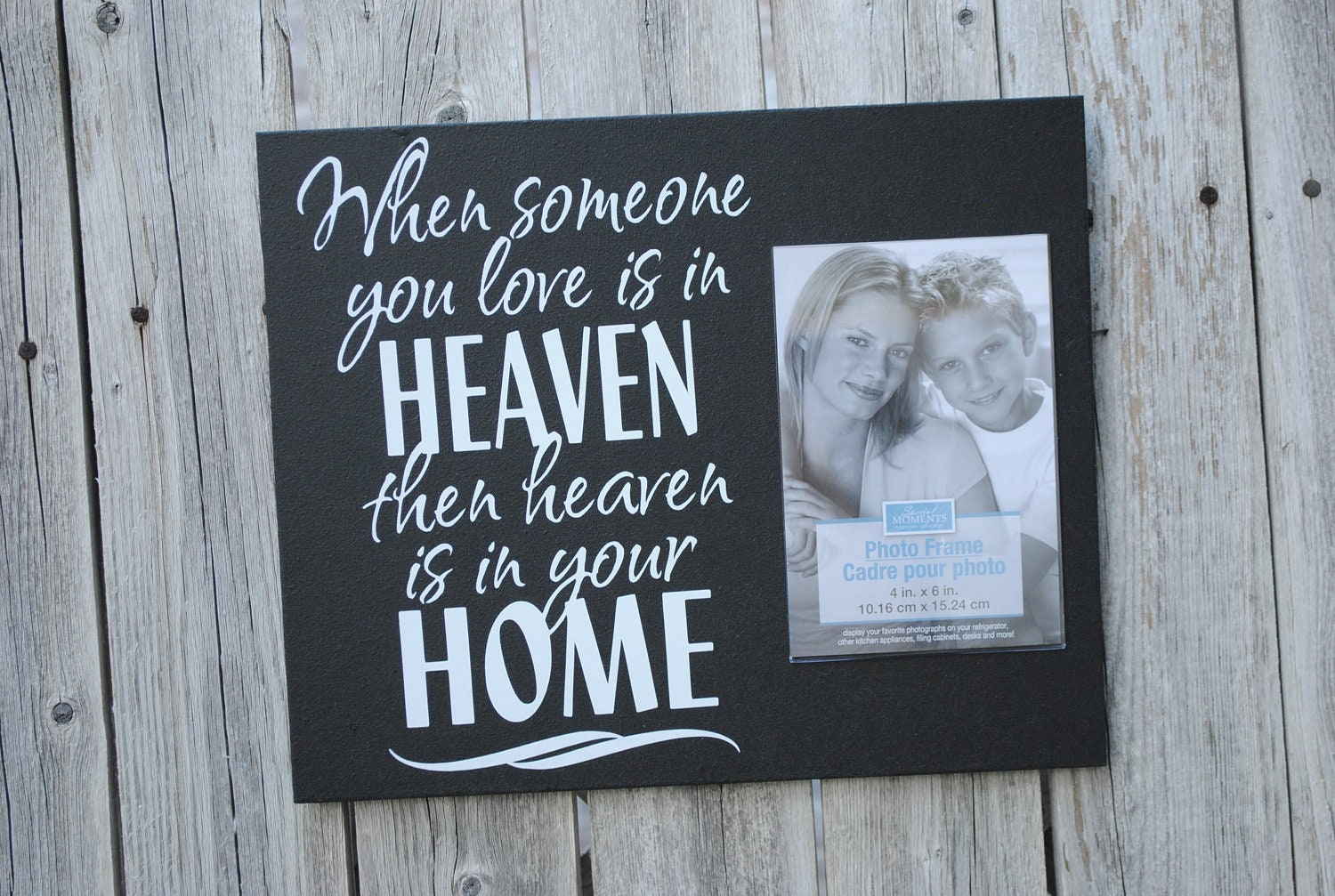 Loved One Memorial When Someone You Love Is In Heaven Then