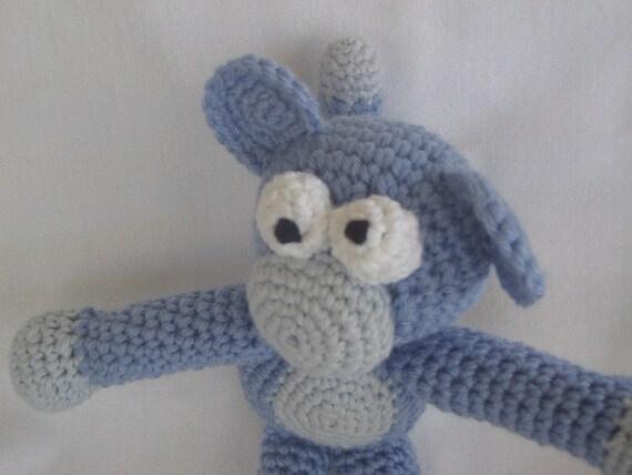 Crochet Purple Monkey