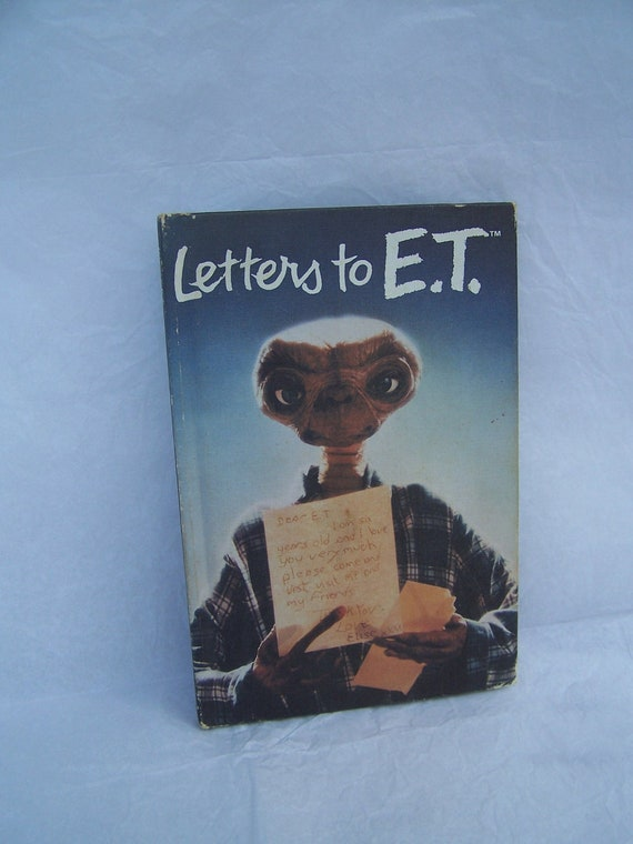 1983 Letters to E.T. Book
