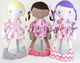 SALE Beth PDF Doll Pattern