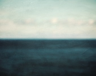 Ocean Art, Abstract Art Prints, Abstract Landscape Print, Modern Minimalist Wall Art, Landscape Photography - Why is the Ocean Blue