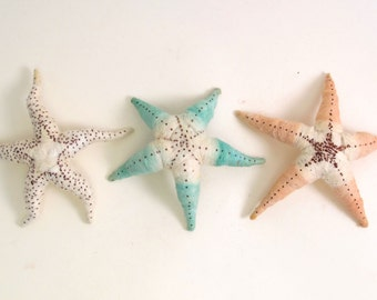 Vintage Style Spun Cotton Starfish Figure/Ornament