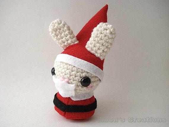 Amigurumi Father Christmas : Santa Claus Moon Bun Amigurumi Father Christmas by ...