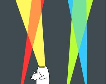 Inner Light 12x18 Art Print