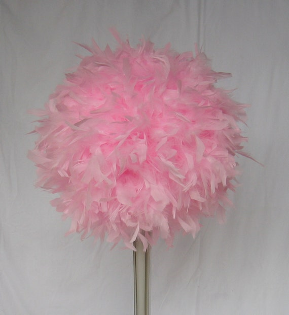 Items similar to quot feather centerpiece kissing ball
