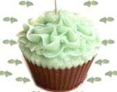Mint Chocolate Cupcake Candle Minty Scent