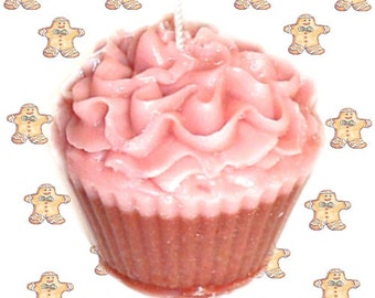 Gingerbread Cupcake Candle Spicy Cookie Scent