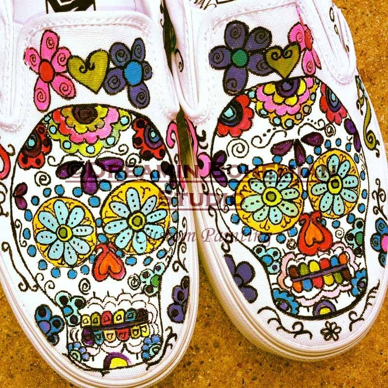 Vans Sneakers Flat Summer Shoes Hand Painted Vans Custom