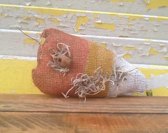 Primitive Halloween Candy Corn Mousie-