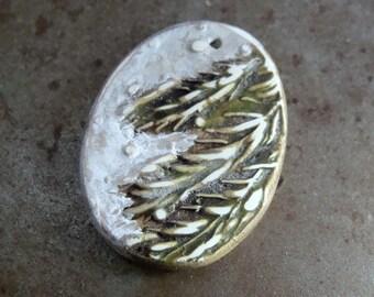 Woodland Evergreen Holiday Pendant
