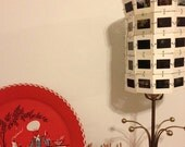 Around the House - Vintage Slide Lamp Shade