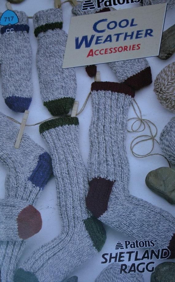 Knitting Patterns Sock Yarn Mittens : Knitting Patterns Socks Mittens Hats Scarves Vest Cool Weather