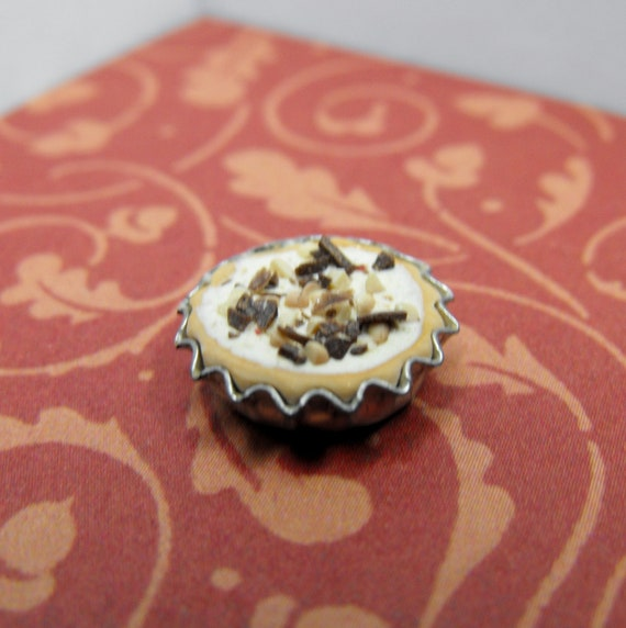 Peanut Butter Cream Pie--Miniature
