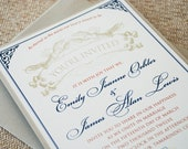 Vintage Lobster Wedding Invitation - Design Fee