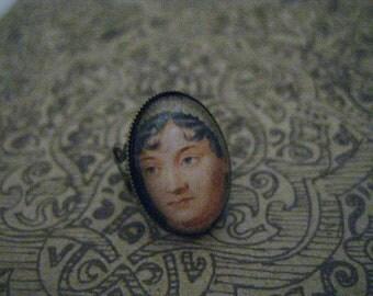 Literary Jane Austen Ring