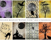 Silhouette ATC Backgrounds