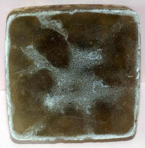 Kelp Seaweed Facial Bar It ain't pretty but oooh soooo Nice for Your Face by Toadstool Soaps