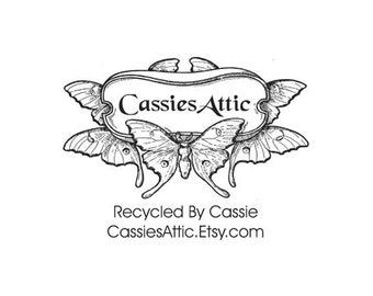 butterfly Business custom Rubber Stamp with websitee