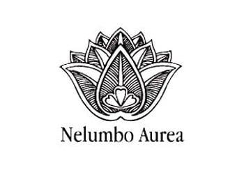 Custom Mehndi lotus flower rubber stamp