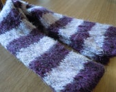 Purple Stripes scarf