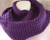 Sale Item- Violette Infinity Loop Scarf by Jolieparisienne