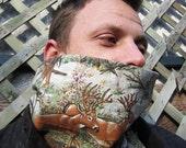 SALE .. Cowl your way .. Antlers .. adjustable neckwarmer