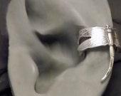 Sterling Dragonfly Ear Cuff  -  DRAGONFLY EARCUFF  -  Silver Ear Wrap
