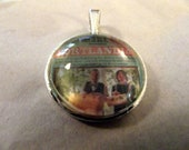 PORTLANDIA    Carrie & Fred    Glass Domed Pendant