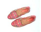 size 11 multicolor leather huarache sandals