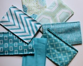 Simply Style by V and Co Fat Eighth Bundle Aqua