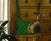Green Circle Dashiki Harvest Belt Pack