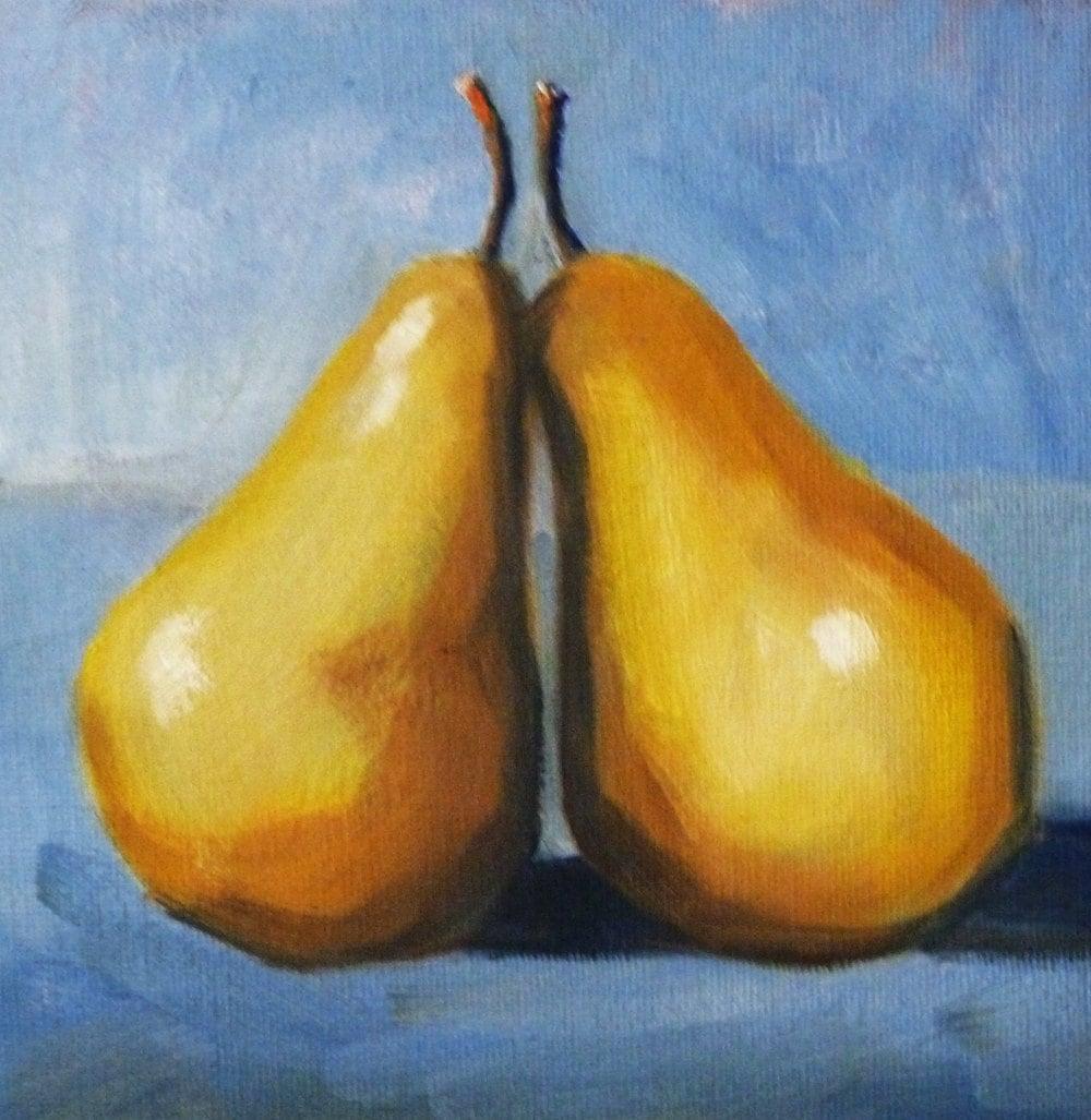 Pear Wall Art Kitchen