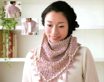 CROCHET SHAWLS and STOLES - Japanese Craft Book