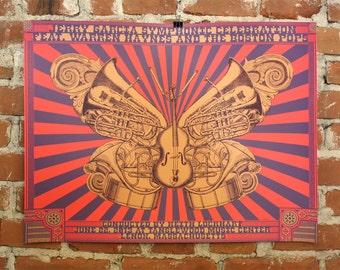 Jerry Garcia Symphonic Celebration Poster- Warren Haynes and Boston Pops
