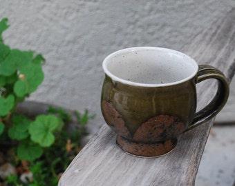 Vintage Mid Century Modern Stoneware Mug